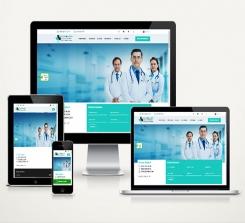 Doktor / Klinik Web Sitesi Paketi Soft Care v4.0