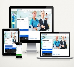 Doktor / Klinik Web Sitesi Paketi Soft Line v4.0