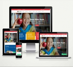 Kreş Anaokulu Web Sitesi Paketi Soft Abc