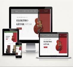 Müzik Aletleri E-Ticaret Paketi Soft  Voll
